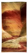 John Day Martian Landscape Beach Towel