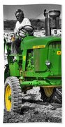 John Deere 4020 Beach Towel