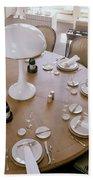 John Dickinson's Dining Table Beach Sheet