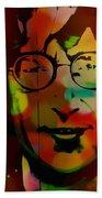 John Lennon Beach Towel