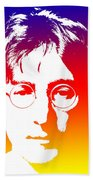 John Lennon The Legend Beach Towel