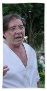 John Of God Beach Towel