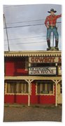 John Wayne Cowboy Museum Tombstone Arizona 2004 Beach Towel