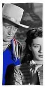 John Wayne Gail Russell Angel And The Badman  Publicity Photo 1947-2012 Beach Towel