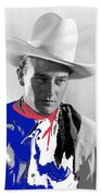 John Wayne Publicity Photo Overland Stage Raiders 1938 Beach Towel