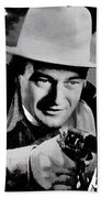 John Wayne Two-fisted Law  1932 Publicity Photo Beach Towel