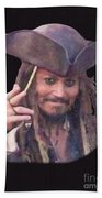 Johnny Depp Beach Towel