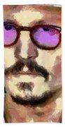 Johnny Depp Actor Beach Towel