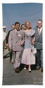 Jone Ann Pedersen Miss California June 1949 Beach Towel