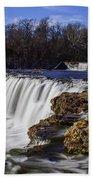 Joplin Grand Falls Overview Beach Towel