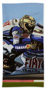 Jorge Lorenzo Beach Towel