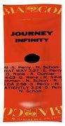 Journey - Infinity Side 1 Beach Towel