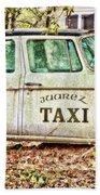 Juarez Taxi Beach Towel