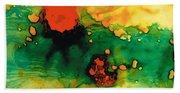 Jubilee - Abstract Art By Sharon Cummings Beach Towel