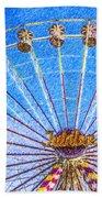 Jubilee Ferris Wheel Beach Towel
