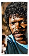Jules Winnfield Beach Towel