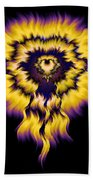 Julia Fire Beach Towel