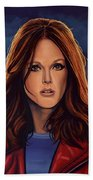 Julianne Moore Beach Towel