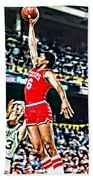 Julius Erving Beach Towel