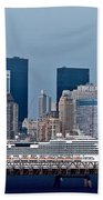 July 7 2014 - Carnival Splendor At New York City - Image 1674-01 Beach Towel