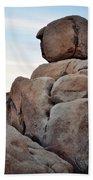 Jumbo Rock Joshua Tree Beach Towel