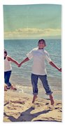 Jump For Joy Beach Towel