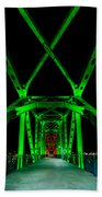 Junction Bridge Beach Towel