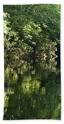 June Morning On The Pawcatuck Beach Towel