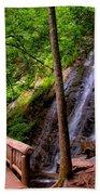Juney Whank Falls Beach Towel