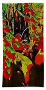 Jungle Abstract Beach Towel