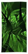 Jungle Clearing  Beach Towel