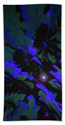 Jungle Night Sky By Jammer Beach Towel