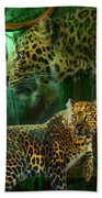 Jungle Spirit - Leopard Beach Towel