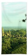Jungle Temple 01 Beach Towel