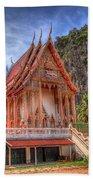 Jungle Temple V2 Beach Towel