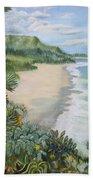 Jungle Waves Beach Towel