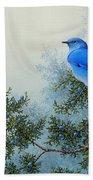Juniper Berries Beach Towel