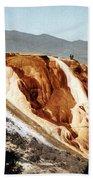 Jupiter Terrace Yellowstone National Park Beach Towel