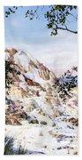 Jupiter Terrace Yellowstone Np Beach Towel