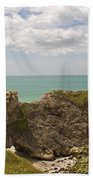 Jurassic Coast At Lulworth Beach Towel