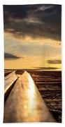 Just Before Sunrise Beach Towel by Bob Orsillo