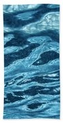 Just Blue  Beach Towel
