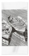 Two Dinghy Friends Just The Two Of Us Beach Towel