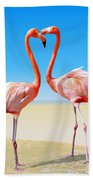 Just We Two Beach Towel