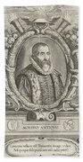 Justus Lipsius, Belgian Scholar Beach Towel by Photo Researchers