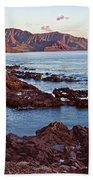Ka'ena Point Oahu Sunset Beach Towel