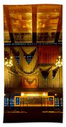 Kaiser Wilhelm Church Organ Beach Towel