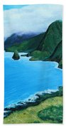 Kalaupapa Peninsula Beach Towel