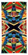Kaleidoscope 2 Beach Towel
