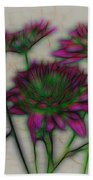 Kaleidoscope Bouquet Beach Towel